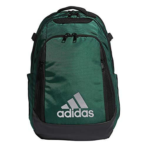 adidas 5-Star Team Backpack, Mochila Unisex Adulto, Verde oscuro, talla única
