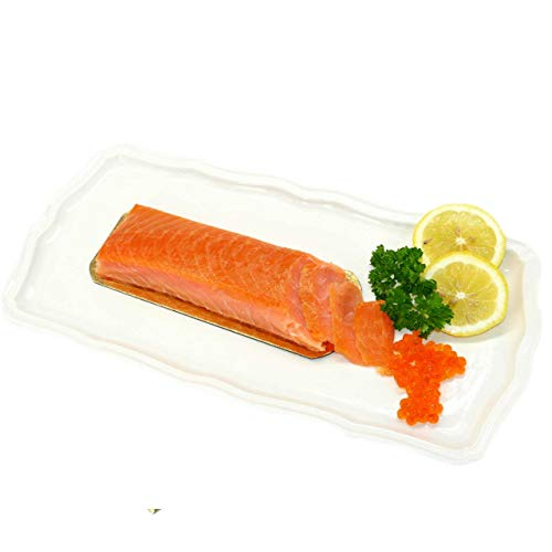 Lachs-Filet Premium Royal geräuchert Norwegen - TOP Kühlversand (4x120g)