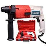 Cheston CTRH-2-20RE Rotary Hammer Drill Machine 500W 20MM Reversible 850RPM with 3-Piece Drill