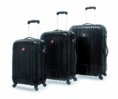 Wenger Koffer-Set EVO Lite, 3-teilig, schwarz, W7203SET22