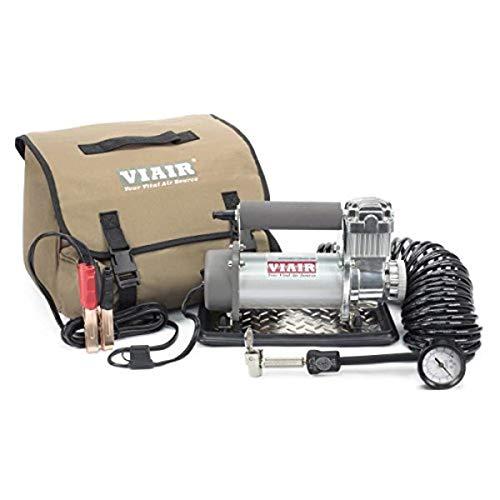 VIAIR 40050 400P 24V Portable Compressor Kit (24V, 33 Duty, 150 PSI, 40 Min. 30 PSI), 1 Pack