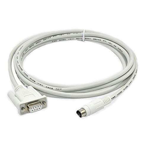 SC-11 PLC Cable adecuado Mitsubishi Serials FX1S/1N/2N/3U Series FX Cable de descarga de programación (SC-11 (blanco))
