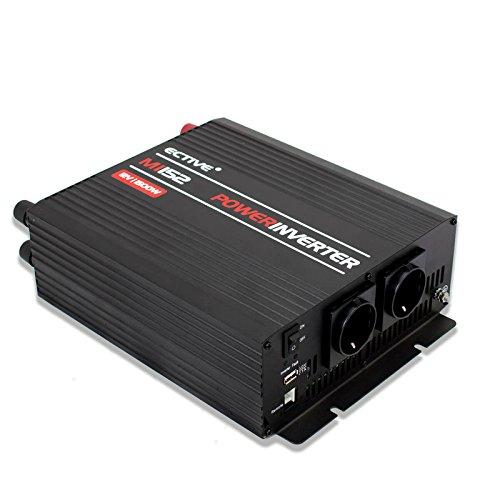 ECTIVE 1500W 12V zu 230V MI-Serie Wechselrichter mit modifizierter Sinuswelle in 7 Varianten: 300W - 3000W