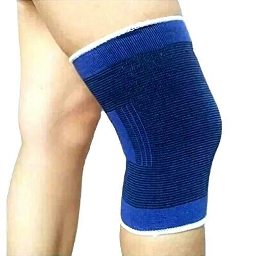 2 pezzi Ginocchiera uso sportivo ad alta compressione - tutore ginocchia -legamenti rotula rotulea - fascia elastica ginocchio per rotula e menisco
