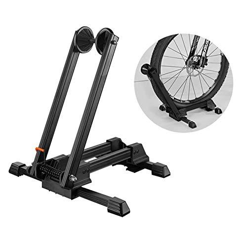 Soporte Plegable para Bicicletas, Soporte para Estacionamiento En El Piso, Soporte para Almacenamiento de Bicicletas Adecuado para Bicicletas de Carretera MTB, Bicicletas Eléctricas