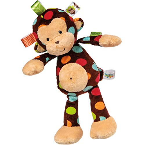 Taggies Dazzle Dots Soft Toy, Monkey