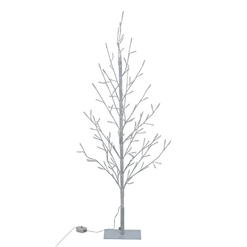 不二貿易 ブランチツリー LED 高さ120cm ウォームホワイト 17458