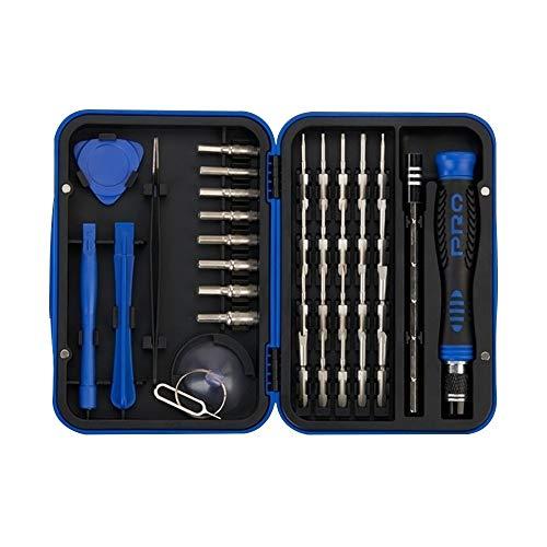 Kit de reparación de relojes, destornillador, juego de destornilladores de precisión 36 en 1, juego de herramientas para reparación de teléfono, celular, reloj, PC, tableta.