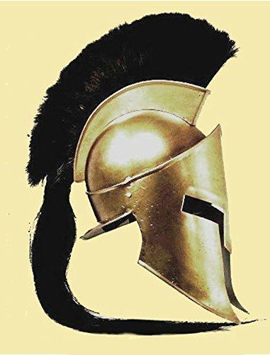 Casco de Leónidas, rey espartano, de la película 300: Amazon.es: Deportes y aire libre