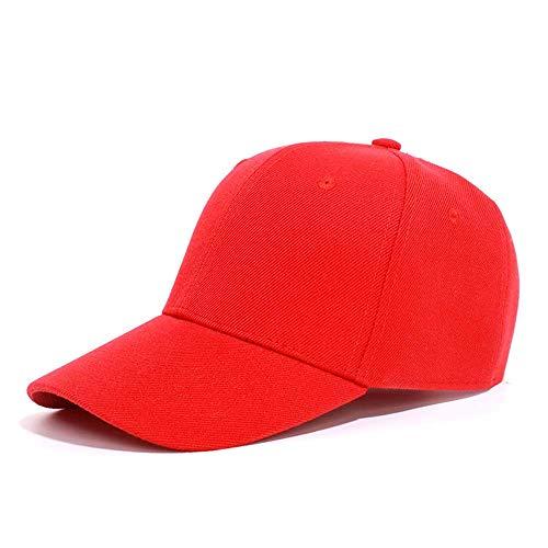 SANHENGMIAO STORE para señoras Sombreros 2019 Hombres y Mujeres Sombrero de Sol Gorra de béisbol Gorra de Trabajo Sombrero Masculino Sombrero Femenino Sombrero de Publicidad Equipo de Gorra