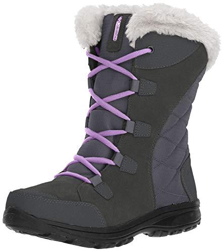 Columbia Women's Ice Maiden II Snow Boot (8.5 B(M) US, Shale/Northern Lights)