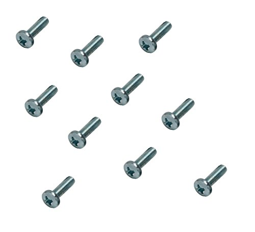 Pack of 10 Machine Screws//Bolts A2 Stainless Steel Pozi Pan Head Mch Screw M6 6mm x 12mm