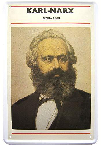 YASMINE HANCOCK Karl Marx Placa de Metal Logotipo de la Lata Poster Arte de la Pared Club Bar decoración del hogar
