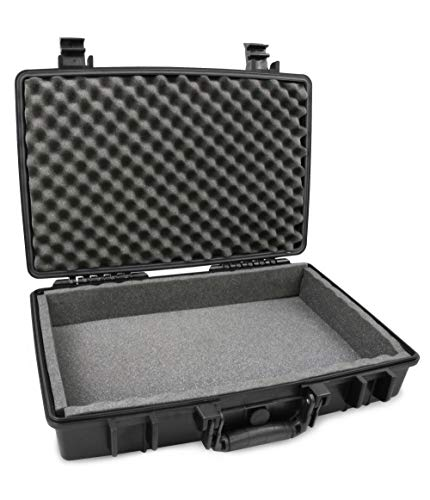 """CASEMATIX Waterproof 15.6"""" Gaming Laptop Case Compatible with Acer Predator Helios 300 2019, Nitro 5, Triton 500, Triton 700, Nitro 7, Rugged Impact Protection and Padded Foam"""