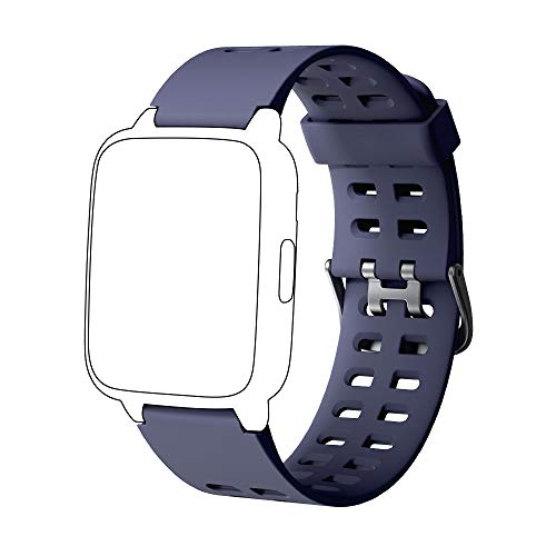 YAMAY Cinghia di Ricambio per SW020 Smart Watch IP68 (Blu)