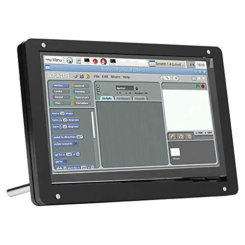 Aukson Bildschirmgehäuse, 7-Zoll-Bildschirmunterstützung Typ Gehäuse 1024 * 600(Metal Bracket Shell)