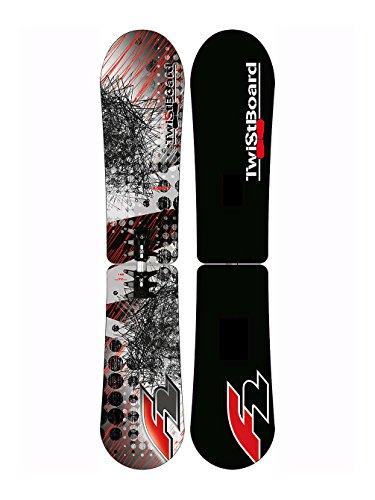 Herren Freeride Snowboard F2 - FTWO Agent black Twistboard 152 11/12