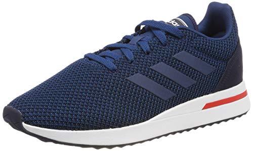 adidas Run70s, Zapatillas de Running para Hombre, Azul (Legend Marine/Active Red), 42 EU