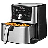 Instant Vortex Plus 6-in-1 Air Fryer, 6 Quart Black, 4 Customizable Smart Cooking Programs, Digital Touchscreen, Large Non-Stick Air Fryer Basket