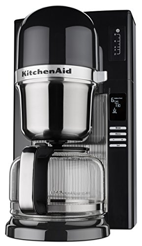 KitchenAid KCM0802OB Pour Over Coffee Brewer, Onyx Black