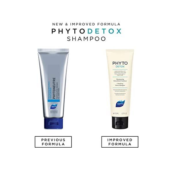 Detox products PHYTO Phytodetox Clarifying Detox Shampoo, 4.22 fl oz