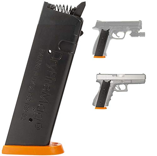 DRYFIREMAG Training Magazine for Smith & Wesson M&P Dry Fire Training with Audible & Tactile Simulation, Apex Trigger Compatible, Safe for Use at Home and Uses No Ammo