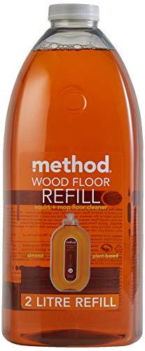 Method Limpiador de suelos de madera, repuesto de almendra, 2 l