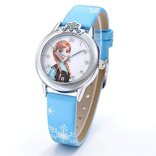 Die Eiskönigin Mädchen Armbanduhr mit Elsa und Anna – Frozen