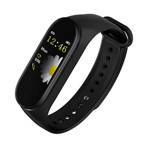 Fitnesstracker, fitnesstracker, smartwatch, met bloeddrukmeter, slaapmonitor, calorieënteller voor Android en iPhone