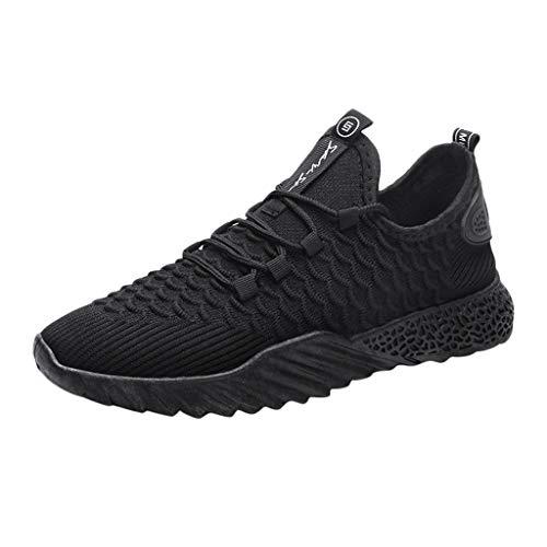 Zapatillas de Running Unisex Adulto,ZARLLE Zapatillas Deporte Hombre Calzado Deportivo para Correr Zapatillas Ligeras Transpirables 39-44