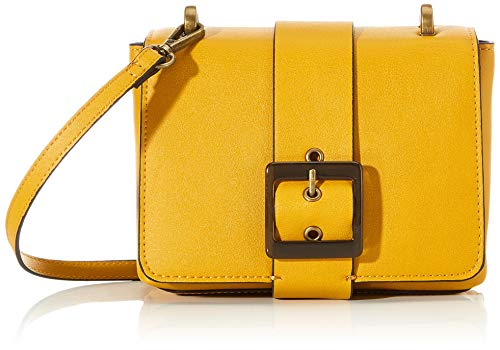 MARCO TOZZI Damen 2-2-61017-24 Umhängetasche, Gelb (Saffron), 7x14,5x18,5 cm