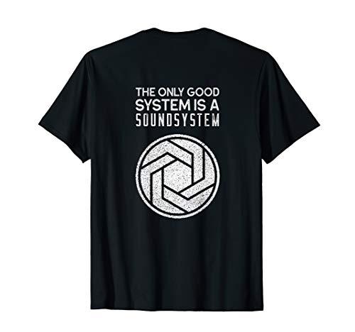 Backprint Tekno Soundsystem Hardtek Frenchcore T-Shirt