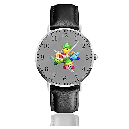 星のカービィ Kirby 腕時計 レディース ビジネス 時計 ファッション カジュアル かわいい おしゃれ レディースウォッチ メンズウォッチ 多機能 耐衝撃 通勤 宴会 平日 成人祭 プレゼント 高級 男女兼用