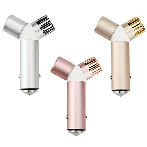 Oscoo - Ionizador purificador de aire para el coche y cargador USB ...