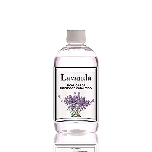 Ricarica Diffusore di profumo per lampada profumata catalitica 500 ml. Lavanda