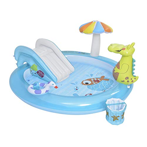 Intex Gator Play Center – Piscina infantil flotante de piscina baja Up centro de juegos hinchable Kids Water Fun Pool – Piscina infantil – 201 84 170 cm / 79.13 33.07 66.93 pulgadas