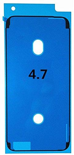 Kleber, Klebefolie Adhesive für Display und Gehäuse, Dichtung kompatibel mit iPhone 6S 4.7 (schwarz)