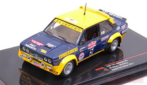 Ixo Model RAC266 Fiat 131 Abarth N.5 Olio Fiat Sanremo W.ROHRL-W.PITZ 1:43 Compatibile con