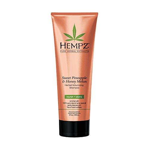 Hempz Sweet Pineapple and Honey Melon Herbal Volumizing Shampoo, 9 oz. – Natural Thickening and Repair Product for Women…