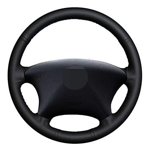 NsbsXs para Citroen Xsara Picasso 2003 2010, para Peugeot Partner 2003 2008 Cubierta del Volante del Coche Cosida a Mano