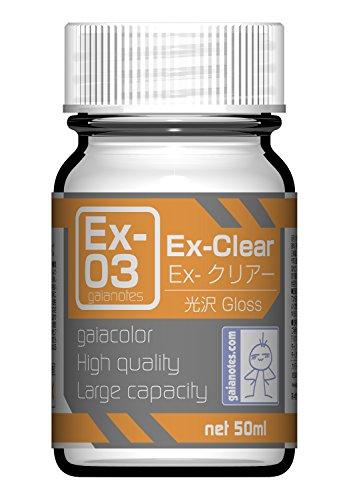 ガイアノーツ Exシリーズ Ex-03 Ex-クリアー 50ml 模型用塗料 30013
