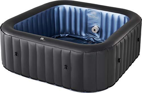 MSPAUK Tekapo Latest 2021 Mspa Portable Hot Tub Round Square 2/4/6...
