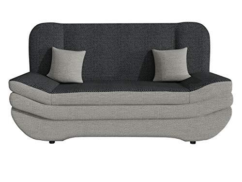 Sofa Weronika mit Bettkasten und Schlaffunktion, Schlafsofa, Große Farb- und Materialauswahl, Couch vom Hersteller, Wohnlandschaft (Majorka 04 + Majorka 03 + Majorka 04.)