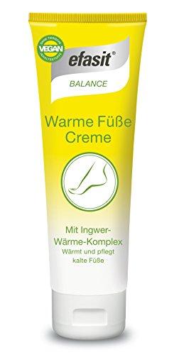 Efasit Wellness Warme Füsse Creme, 1er Pack (1 x 75 ml)