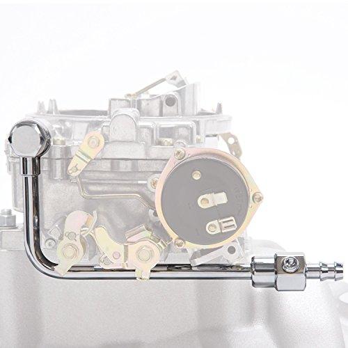 Edelbrock 8126 Chrome Fuel Line for EPS Carb.