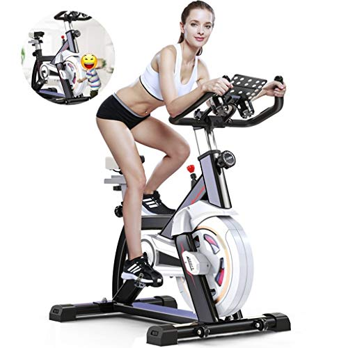 Great Price! Cycling Machine Mute Adjustable Sports Fitness Vehicle Home Fitness Spinning Bike All-I...