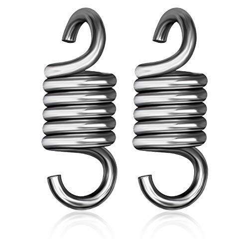 everlar® Double paquet de ressorts oscillants I EU Made I Ressorts pour balançoires Hollywoodiennes, hamacs, fauteuils suspendus, balançoires, chaises flottantes et bien d'autres encore I 200 kg