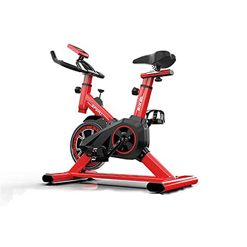 WUYANJUN Exercise Bike, Indoor Cycling Bike, Home Ultra-quiet Fitness Bicycle with Comfortable Seat Cushion, LCD Monitor, for Endurance Training