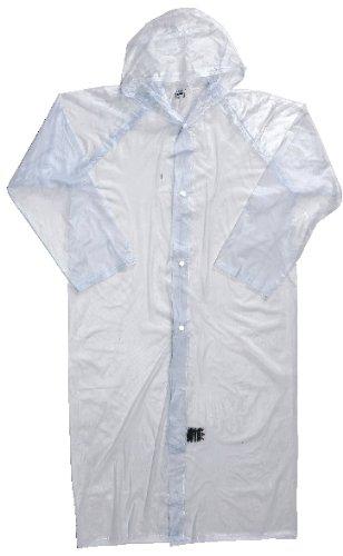 川西(KAWANISHI) レインウェア ポケットコート クリア 120cm #1200