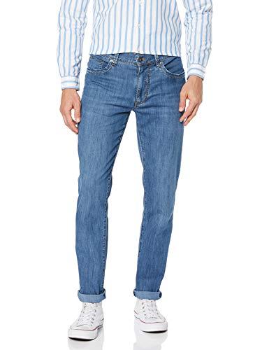 Brax Herren Ultralight Denim Straight Jeans, Blau (Mid Blue Used 24), W40/L32